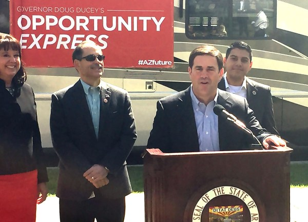 Ducey calls budget, education, business highlights of ...