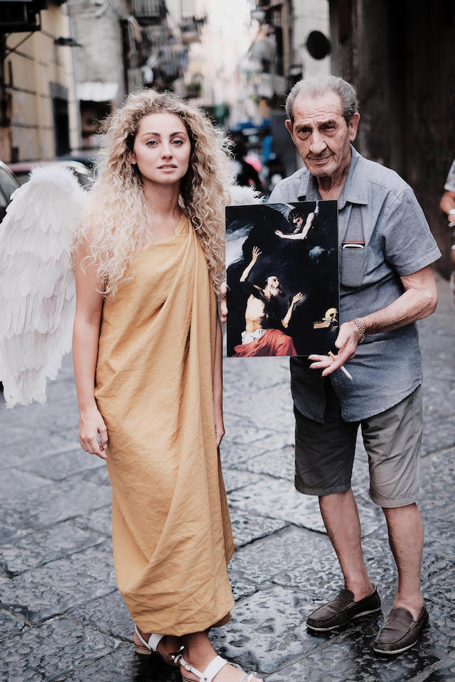 Angelo - Napoli Fashion on the road . Ph. iPhotox 2019