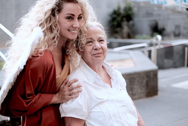 Angelo con Maria -Napoli fashion on the road - Ph iPhotox 2019