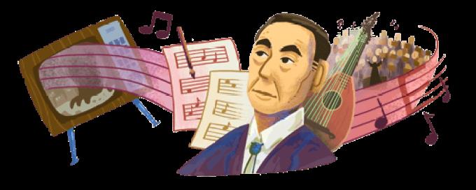 Akira-Ifukubes-107th-birthday-GOOGLE
