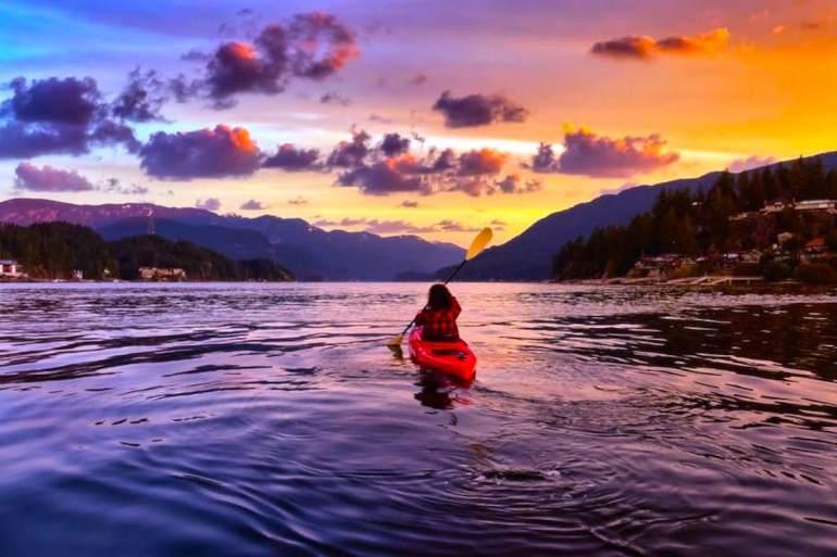 kayaking as meditation - canoa meditazione