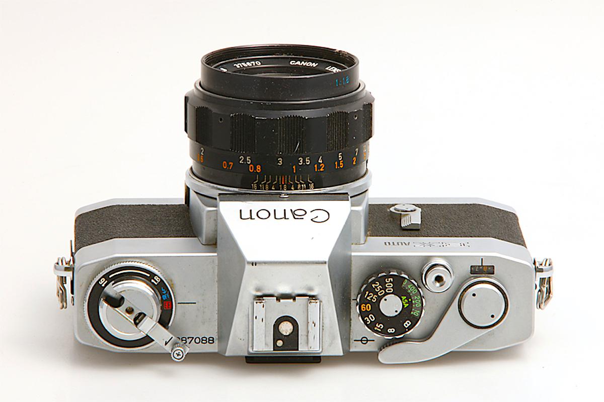 Canon Ex Auto -vista superiore