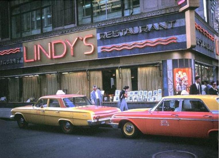 Lindy effect -lindy-s-restaurant-1970
