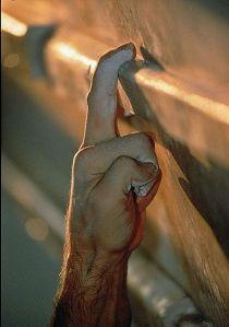 agarre con un dedo