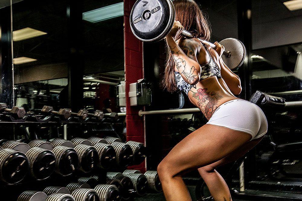 Rutina 4 días de pesas para mujeres