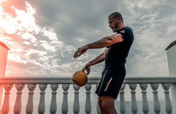 trabajo de fuerza para runners