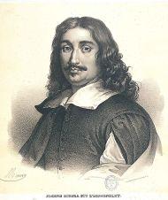 José de Ribera, en un grabado del siglo XIX (Biblioteca Nacional de España)