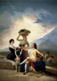 F. Goya (1786): La vendimia, o El Otoño. Museo del Prado (Madrid)