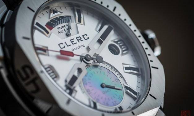 """CLERC """"Hydroscaph GMT"""""""