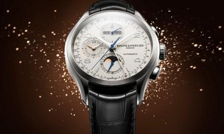 "Baume & Mercier ""Clifton Chronograph Complete Calendar"""