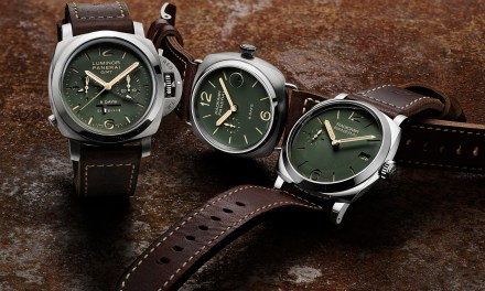 "Officine Panerai ""GREEN DIAL"""