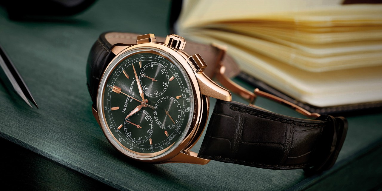 """Frederique Constant """"Flyback Chronograph Manufacture"""""""