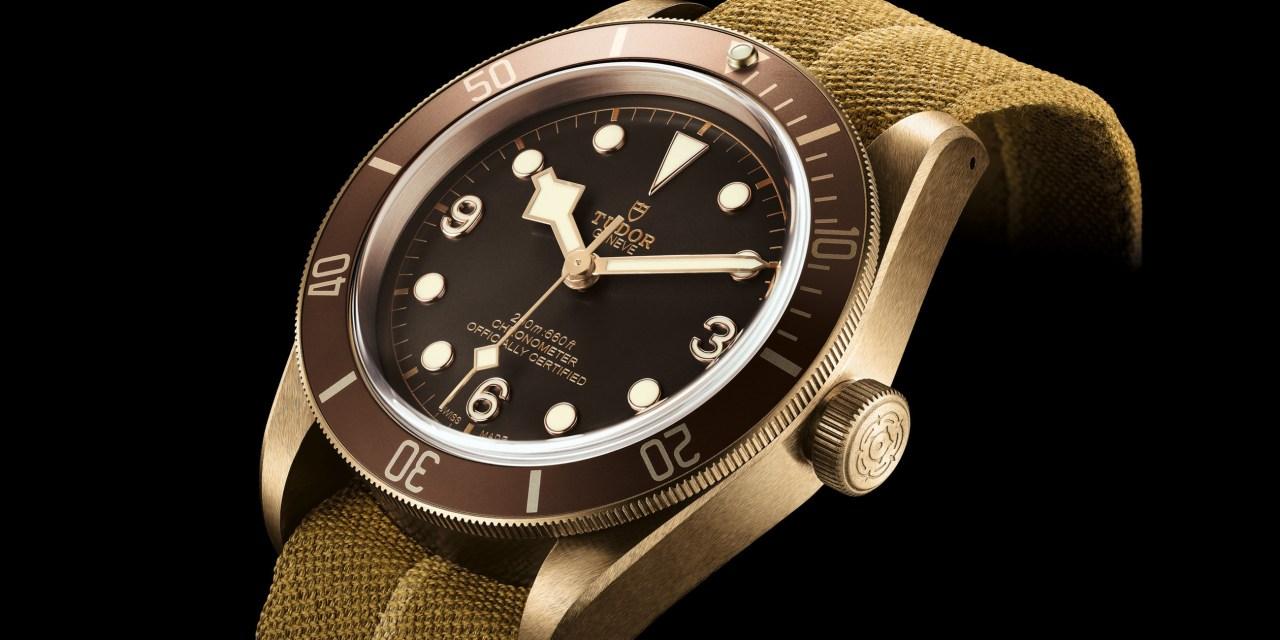 """Tudor """"Black Bay Bronze"""""""