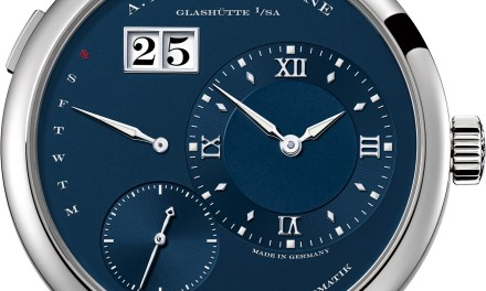 "A. Lange & Söhne ""Blue Line"""