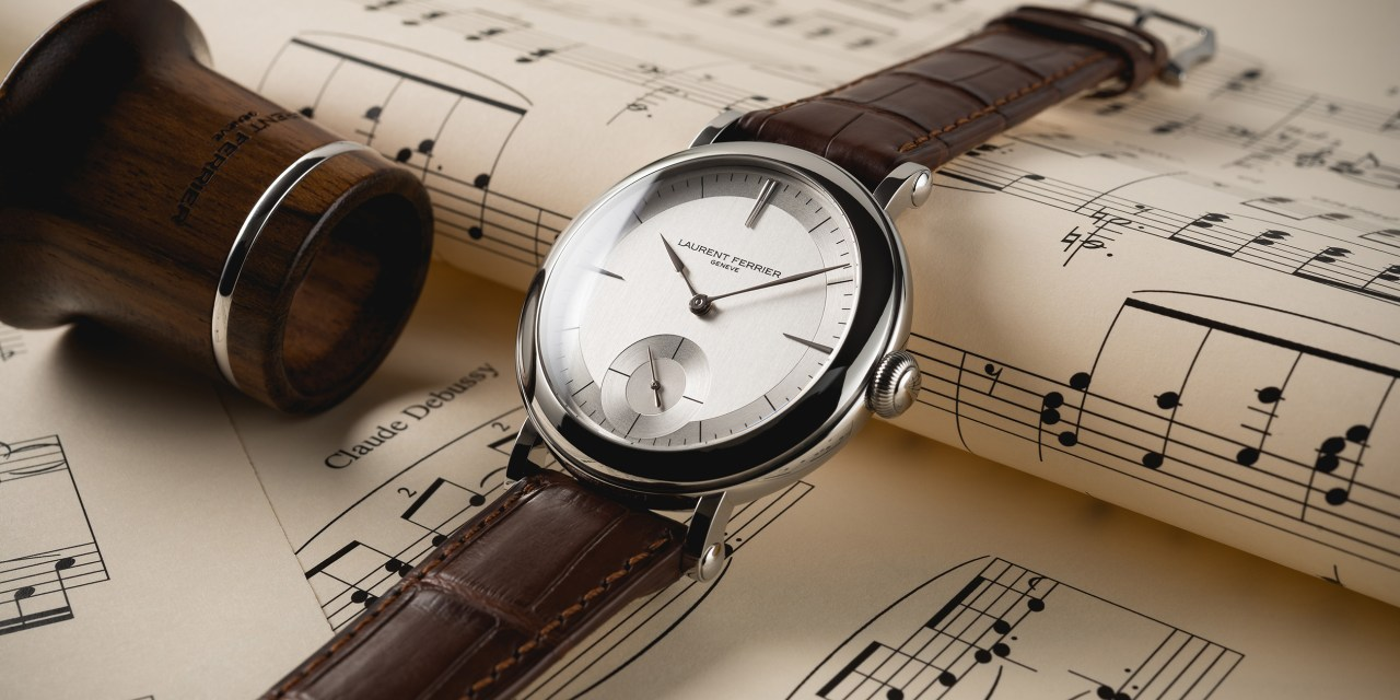 "Laurent Ferrier ""Montre Ecole"""