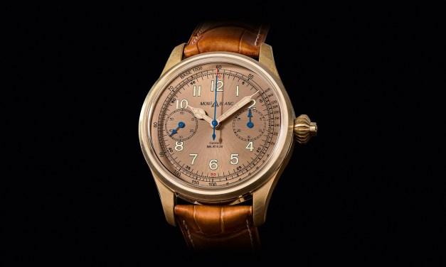 "Montblanc ""1858 Chronograph Tachymeter"""