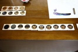 018 - Steps of the urushi year of the dog dial making copy