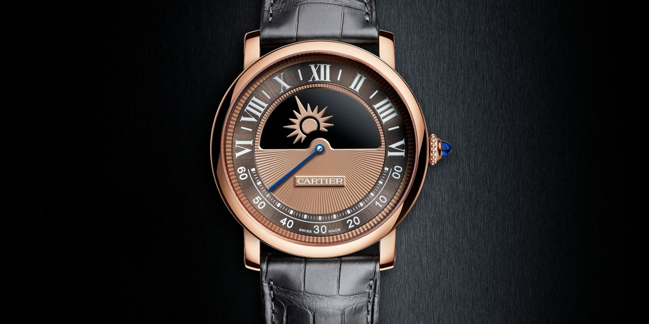 "Cartier ""Rotonde Mysterious Day & Night"""