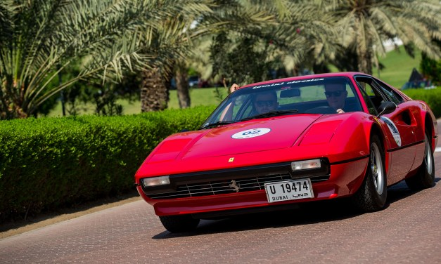 """Chopard wraps up a successful first edition  of the """"Chopard Classic Rally – Dubai"""""""