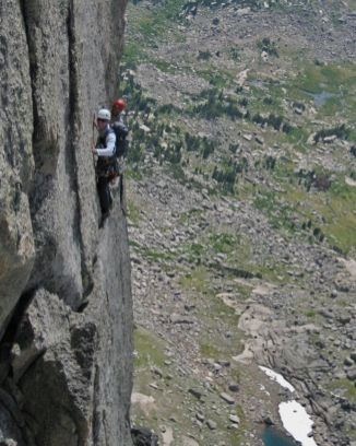 Wolf's Head Traverse, Wind River Range, Wyo