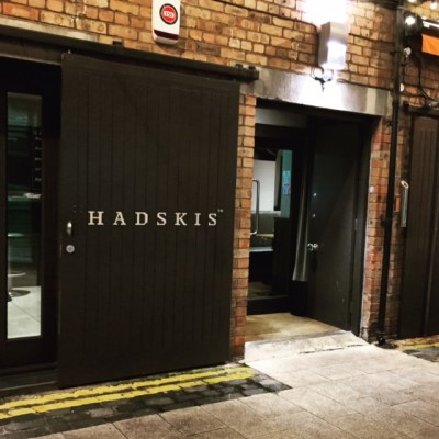 Front of Hadskis in Belfast, Northern Ireland