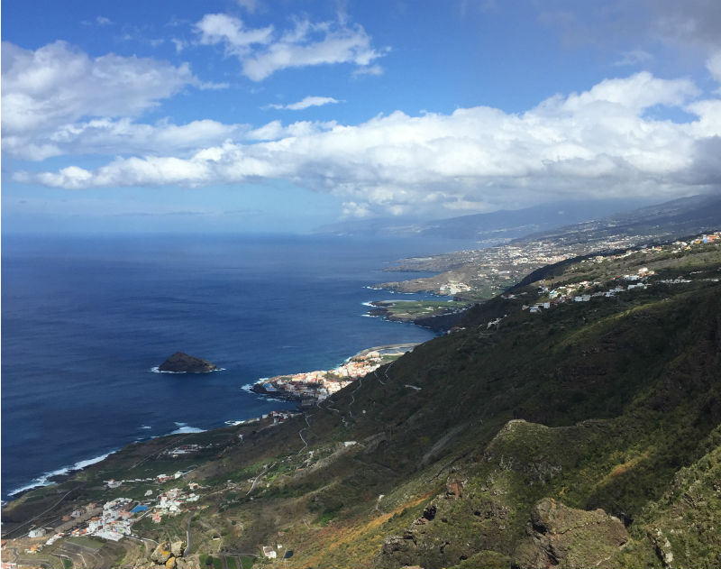 view from above tenerife spain eileen cotter wright