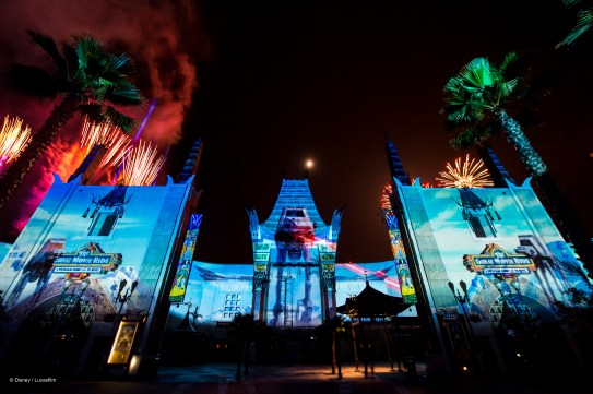 Star Wars Galactic Spectacular stock photo