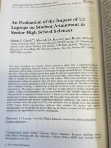 Published Research