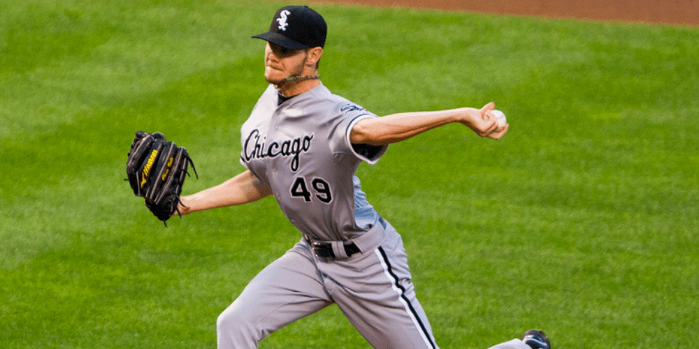 Chris Sale's pitching mechanics are only marginally better than yours. (Photo by: Keith Allison - CC/2.0)