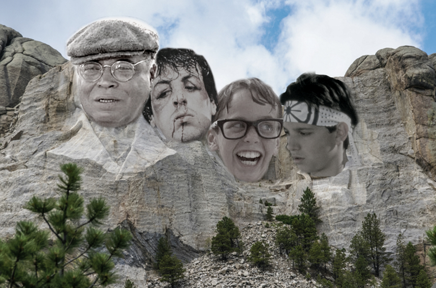 The Mount Rushmore of Sports Movies