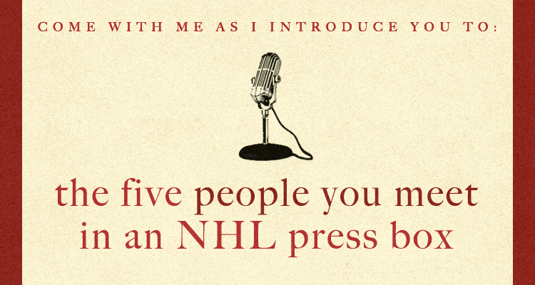 The View from Far Above the Rink: A Media Bestiary