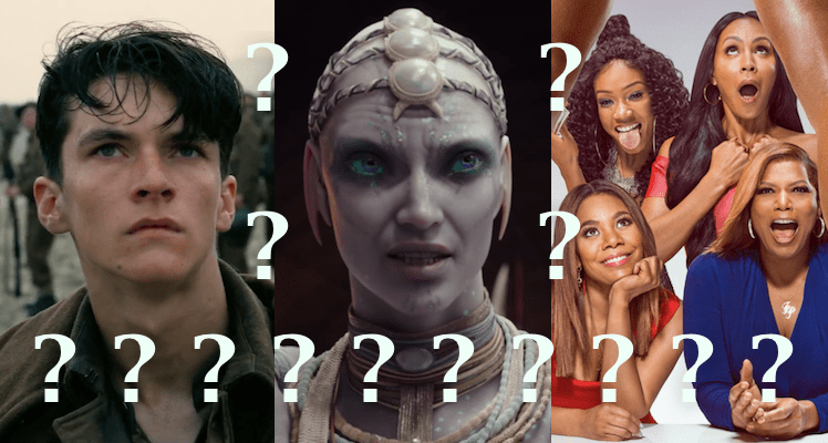 Dunkirk vs. Valerian vs. Girls Trip: How to Tell the Difference