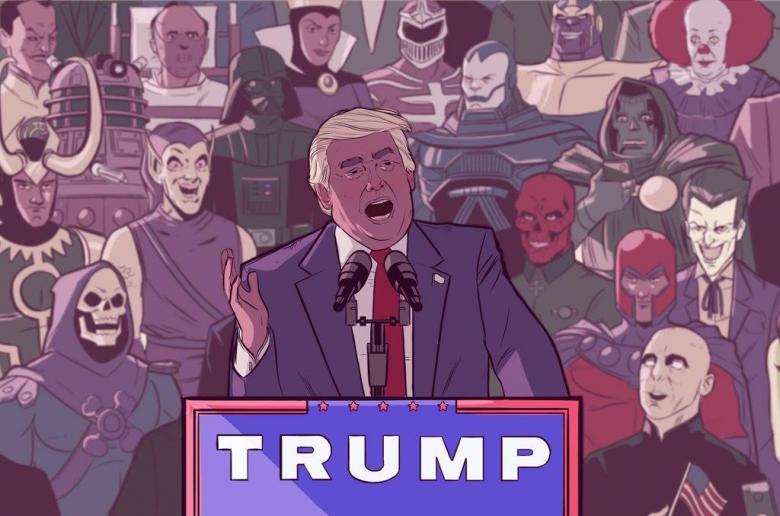 Open Thread - Super Villains For Trump