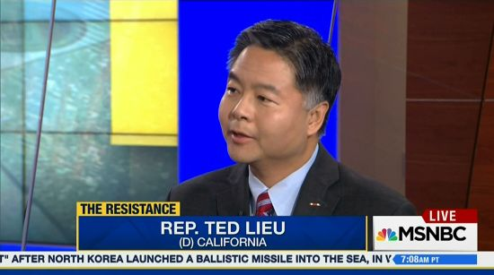 Image result for ted lieu on joy reid