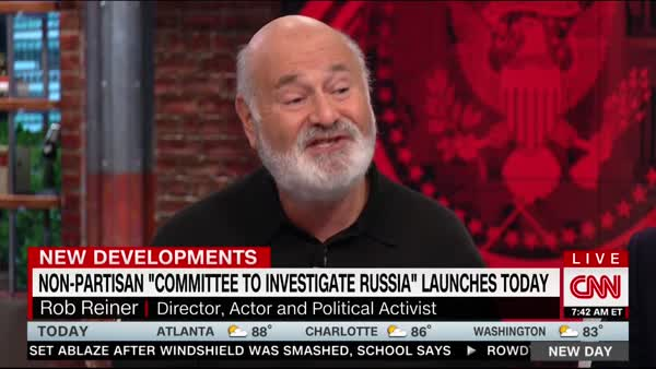 Image result for PHOTOS OF ROB REINER INTERVIEW ON RUSSIA COMMITTEE