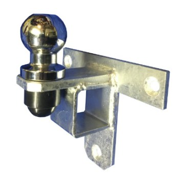 Crookstoppers wall mounted hitch ock security post.