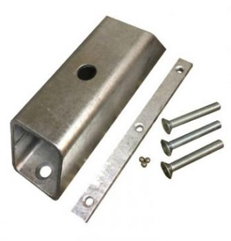 Crookstopper shed or fence security anchor.