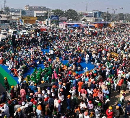 Indian Farmers Against Agriculture Laws
