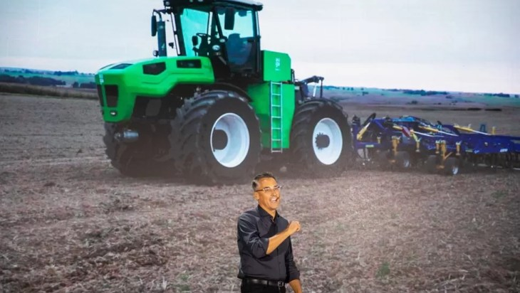 First Climate Friendly Tractor