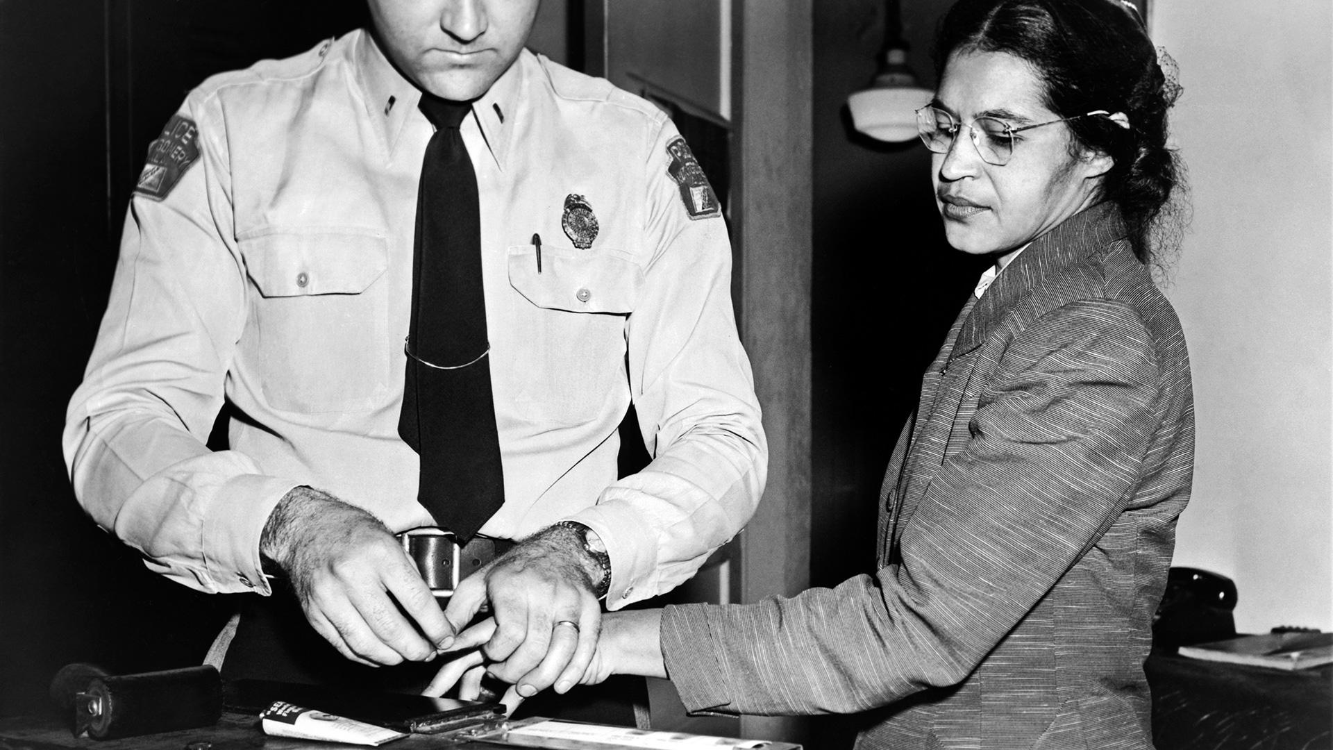 December 1 Rosa Parks Was Arrested