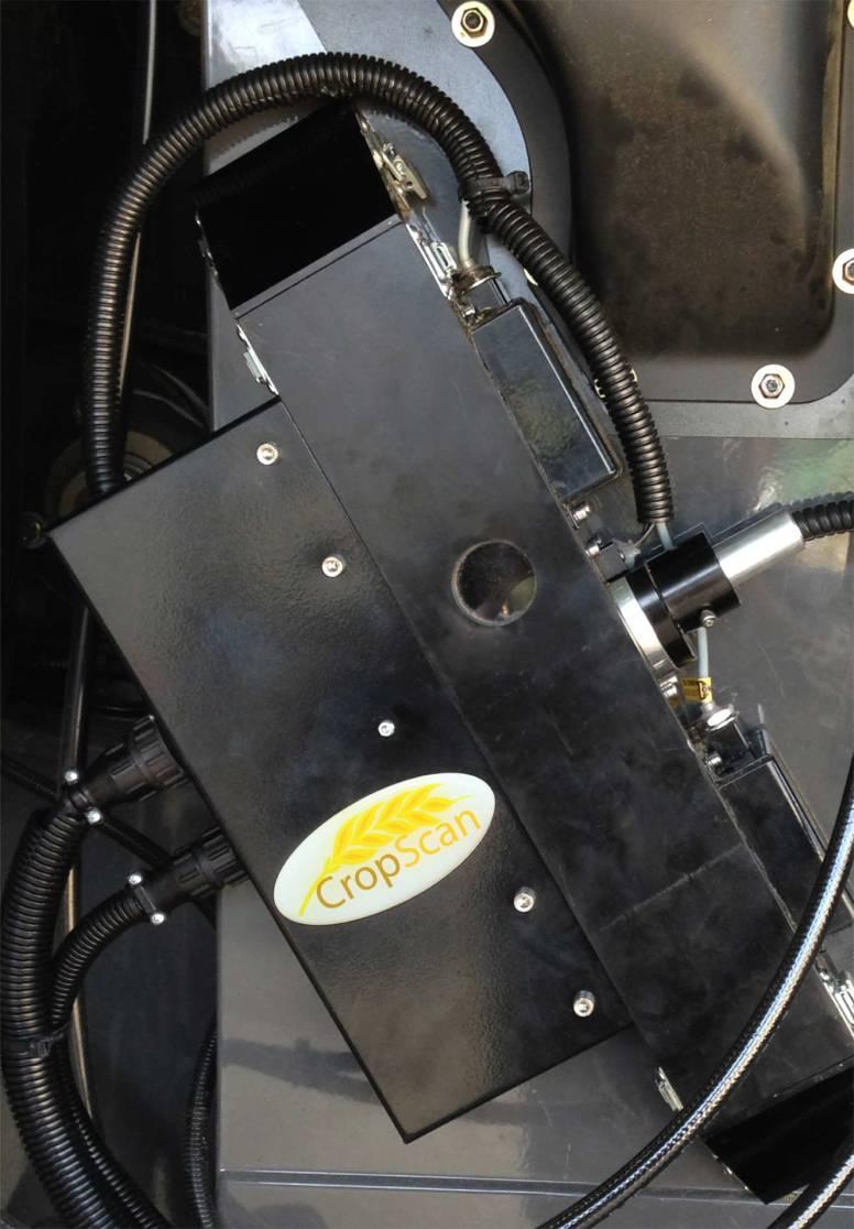 CropScan 3000 Remote Sampling Head installed