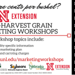 Post-Harvest Grain Marketing Workshop on Dec. 2 in Arlington