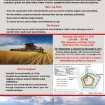 Workshops on Dec. 11, 2014: Field Assessments to Improve Efficiency