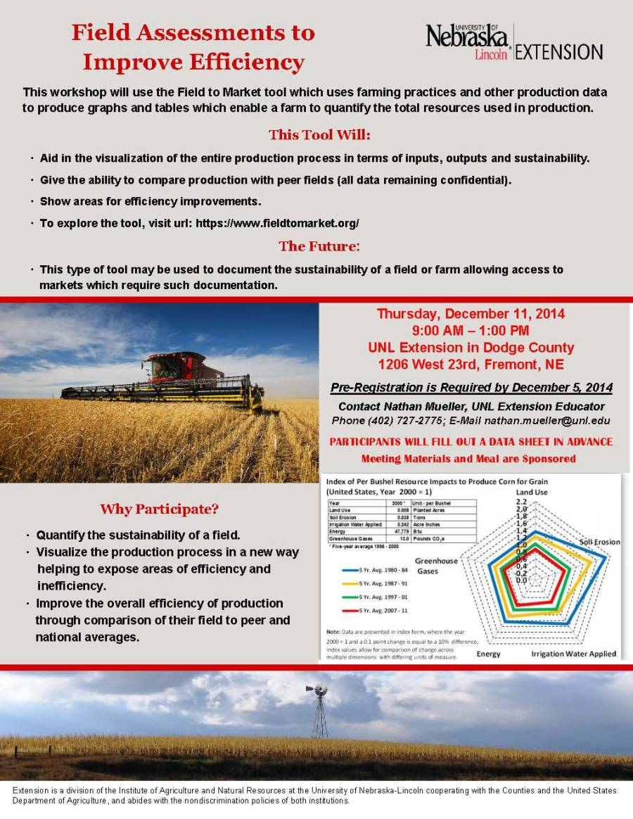 Field to Market Flyer - Dodge County-2