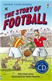 Usborne audio book - story-of-football-with-cd