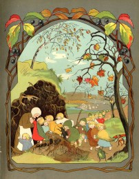 The story of the root children - automne