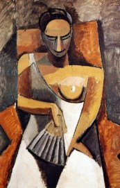 picasso-femme-a-leventail-1909