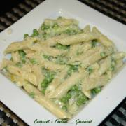 Penne rigate au mascarpone et petits pois - novembre 2009 130