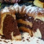 Gâteau marbré qui réjouit l'œil à vous de jouer Ma lolo P1080379