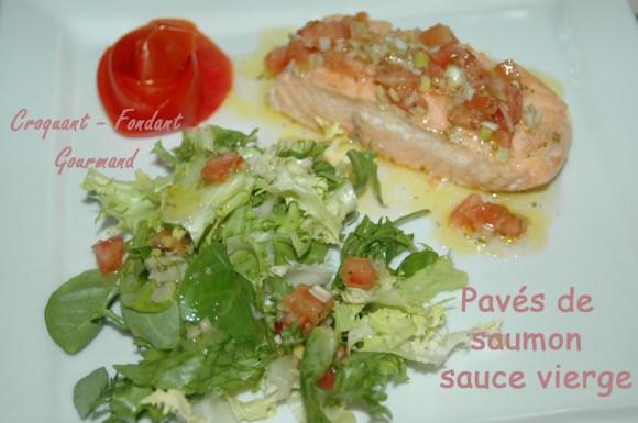 Pavés de saumon sauce vierge - DSC_3857_12038